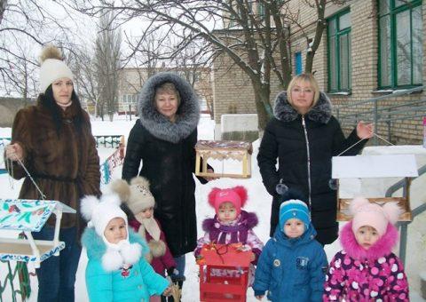Экологическая акция «Покормите птиц зимой!» в группе раннего возраста