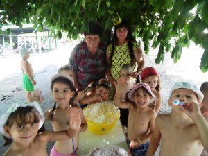 Праздник «Мыльных пузырей и волшебной пены»