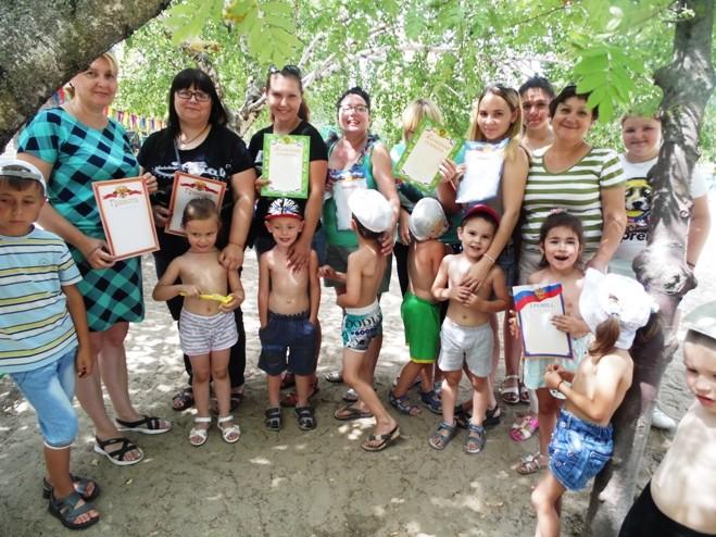 Семейный конкурс «Песочные фантазии»