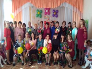 День дошкольного работника в  ДОУ
