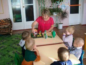 Кружок «Ладушки» в группе раннего возраста