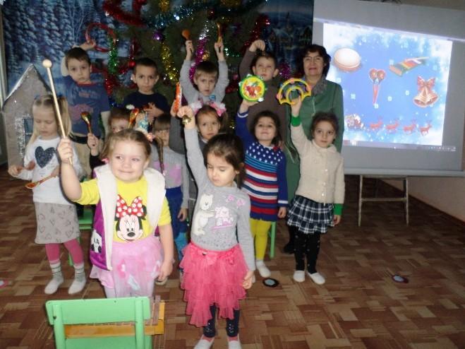 «Новогодние каникулы в детском саду»