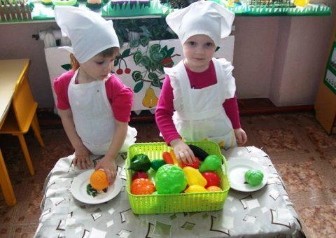 «Овощи и фрукты – полезные продукты»