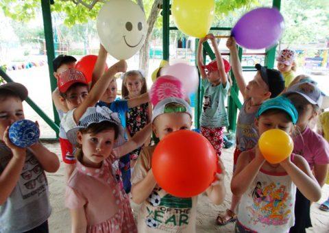 Развлечение «Ах, эти чудесные, воздушные шары».