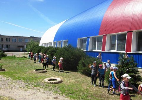 День детского туризма в МБДОУ «Детский сад «Ивушка»