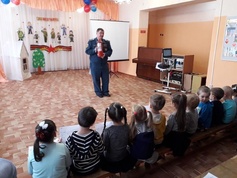 Партнёрские отношения со службой МЧС - гарантия безопасности жизнедеятельности учреждения дошкольного образования.