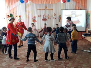 «Широкая масленица»  в МБДОУ «Детский сад «Ивушка»