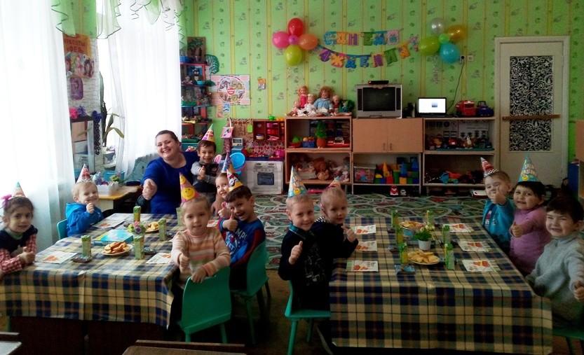 День рождения — праздник детства!