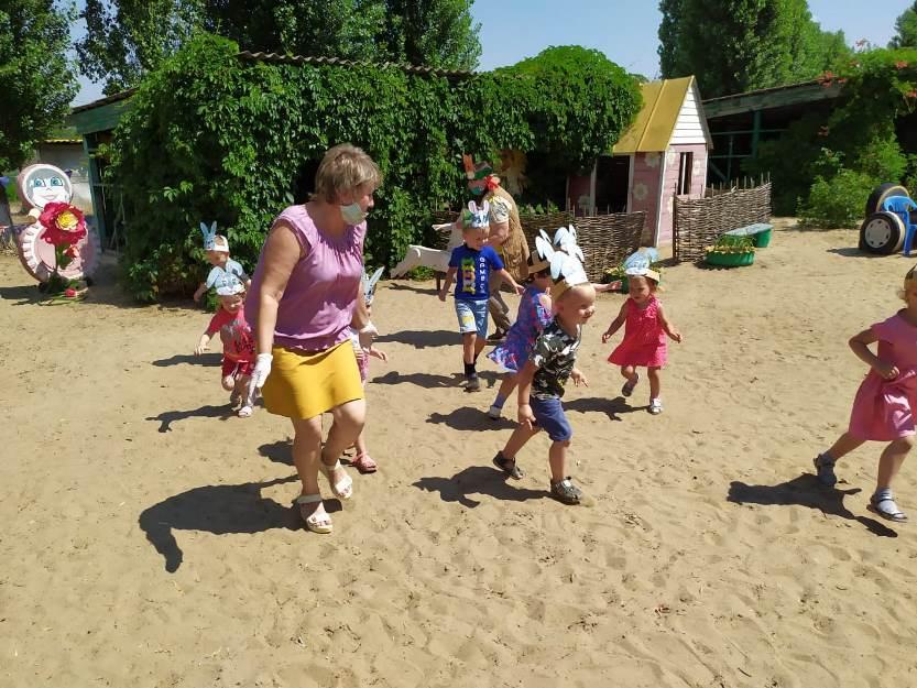 Лето, солнце, дружба – вот что детям нужно!