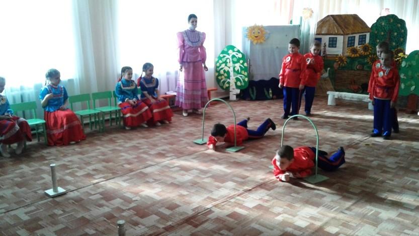 НОД «Бравые казачата» в подготовительной группе