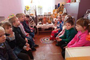 Занятие в мини-музее «Быт казаков»