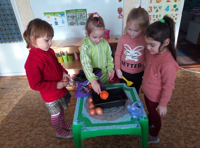 Экологическое воспитание дошкольников