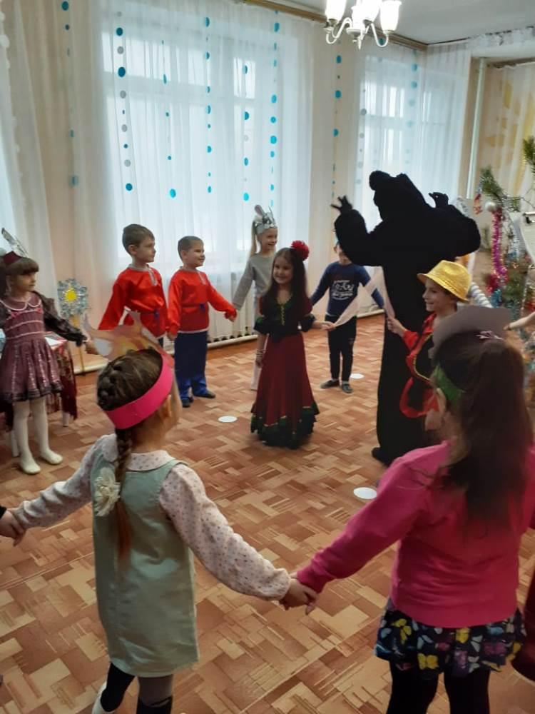 Рождественские святки в детском саду