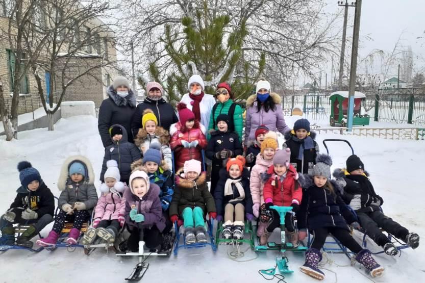 Снежные забавы