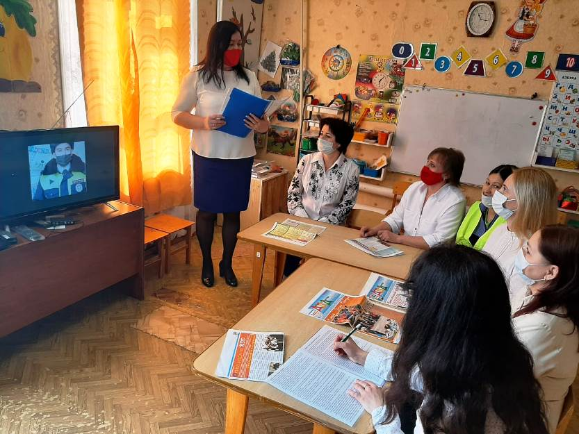 Участие в районном конкурсе «Дружим с «ДДД» - Изучаем «ПДД»