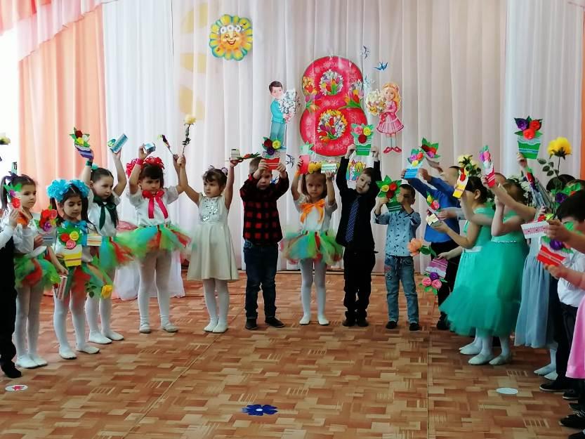 Весенний праздник «Художник и краски»