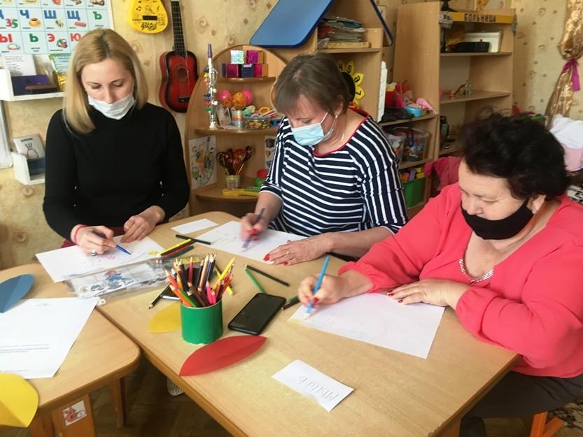 Семинар-практикум «Развитие художественно - творческих способностей  детей дошкольного возраста  в процессе продуктивной деятельности»