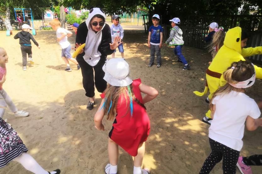 День защиты детей в МБДОУ «Детский сад «Ивушка»