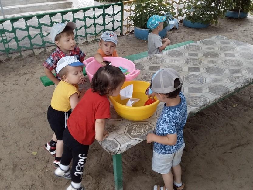 Игры с водой и песком «Летние забавы»
