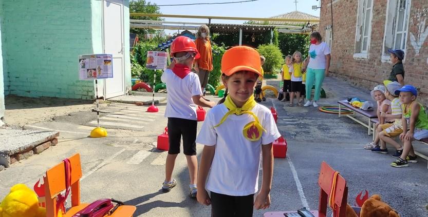 Спортивное развлечение «Школа юных пожарных»